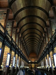 Photos cannot do justice to the breathtaking Long Room at Dublin's Trinity College.
