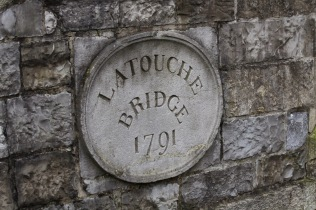 Latouche Bridge, better known at Portobello Bridge, across Dublin's Grand Canal. Said to be haunted.