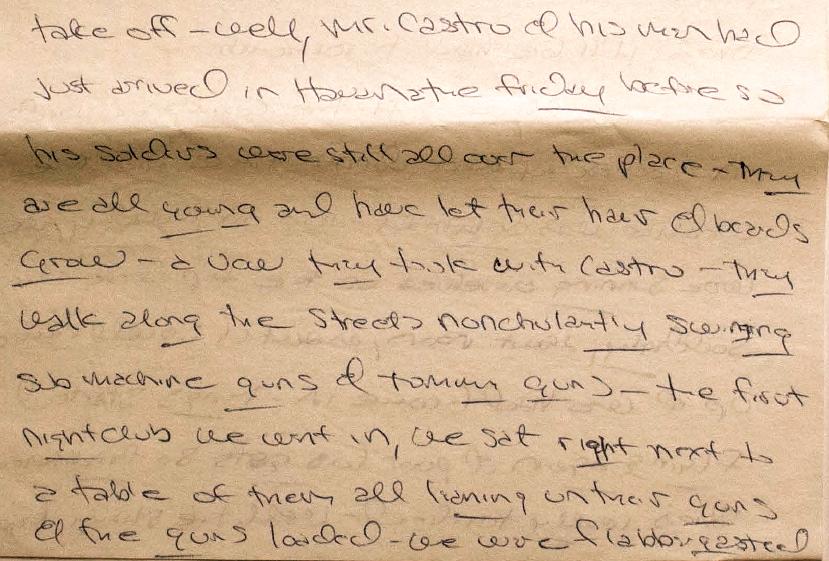 Cuba Letter Excerpt2